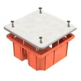 Коробка распаячная с/у 92х92х40 для сплошных стен