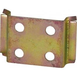 Переходник с DIN-рейки (металл) короткий для АЕ1031МТ