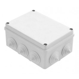 Коробка распаячная о/у 10 вводов 150х110х70 IP55
