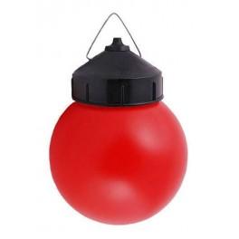 Светильник НСП 03-60 рассеиватель красный пластик