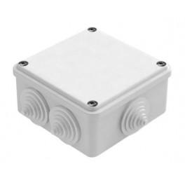 Коробка распаячная о/у 6 вводов 100х100х50 IP55
