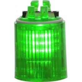 Блок TWS Nano с LED постоянного свечения на 24В AC/DC Зеленый (31584)