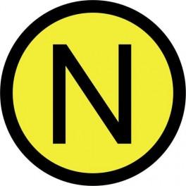 Самоклеящиеся знак 'N'