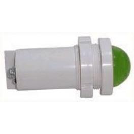 Светодиодная коммутаторная лампа СКЛ-14 Л-2-220, зеленая, биполярная, 220В