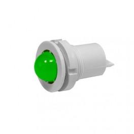 Светодиодная коммутаторная лампа СКЛ-11 Л-2-220, зеленая, биполярная, 220В