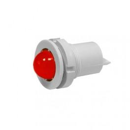 Светодиодная коммутаторная лампа СКЛ-11 К-2-220, красная, биполярная, 220В