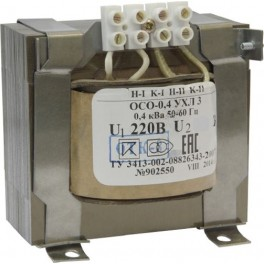 Трансформатор ОСО-0,4 220/36