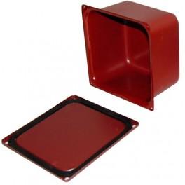 Коробка протяжная У994МУ2 100х100х80мм с уплотнением IP54
