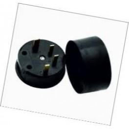 Соединительный элемент РШ-ВШ-30 25А (4штырьк.) кругл. 380В