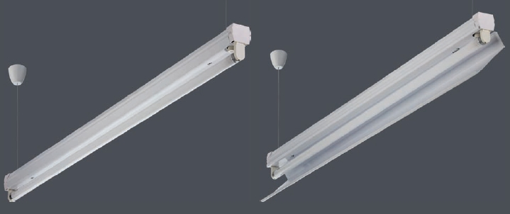 Светильник BAT 1х18 HF с ЭПРА
