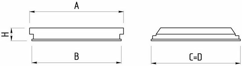 Светильник ЛВО 418 ( 4х18 ) D